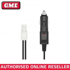 GME LE026 12V DC POWER CABLE WITH LIGHTER PLUG