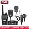 GME TX6160 5 WATT IP67 CB HAND HELD RADIO & ACCESSORIES