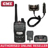 GME TX6160X 5 WATT IP67 CB HAND HELD RADIO + 12V CHARGE CRADLE
