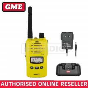 GME TX6160XY 5 WATT IP67 CB HAND HELD RADIO *YELLOW