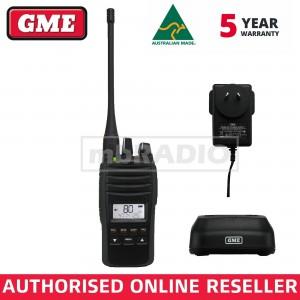 GME TX6600S 5 WATT UHF CB HANDHELD RADIO - IP67