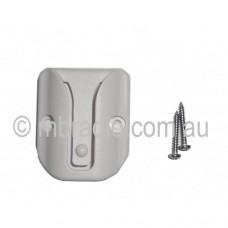 GME WHITE MICROPHONE CLIP