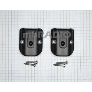 GME MB205 BLACK MICROPHONE BRACKET/HOLDER x2