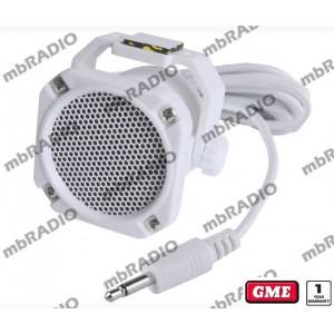 GME SPK45 WATER RESISTANT EXT SPEAKER WHITE