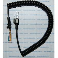 GME MIC CURLY CORD for MC520B/MC522BC/MC524B CONTROLLER MIC