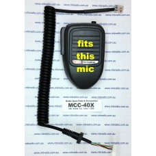 GME MICROPHONE CURLY CORD SUIT MC40X SERIES MICS