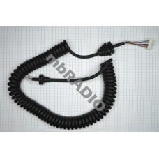 GME MIC CURLY CORD for MC553B/MC557B MIC