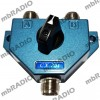 CX201U 2-WAY ANTENNA SWITCH