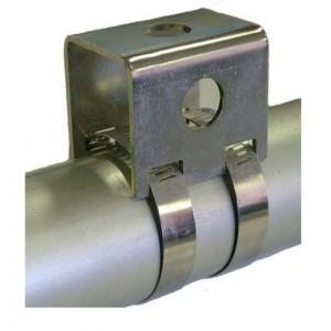XTRA HEAVY DUTY BULL BAR BRACKET S/STEEL 40-63mm