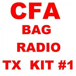CFA BAG RADIO TRANSMIT RFI ANTENNA KIT, 5.0M RFI COAX, FME-F CONNECTOR, BNC-M ADAPTOR