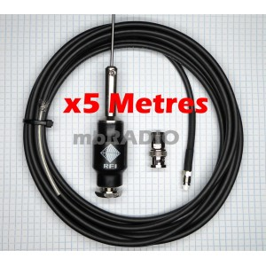 CFA RECEIVE/SCANNER ANTENNA KIT WITH 5M RG58 COAX