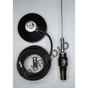 CFA RFI RECEIVE/SCANNER ANTENNA KIT WITH SO239 MAGNETIC BASE, 4.5M RG58 COAX , FME-F CONNECTOR, BNC-M ADAPTOR