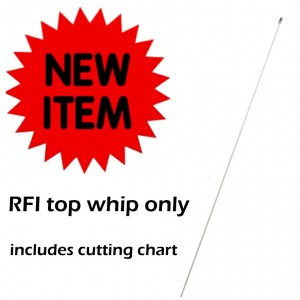RFI CD28-41-50/CD28-41-70 VHF 148-174MHz  WHIP ONLY (just the stainless steel top part)