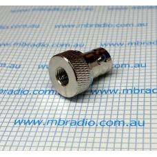 BNC-F TO SMA-M ADAPTOR SOLID