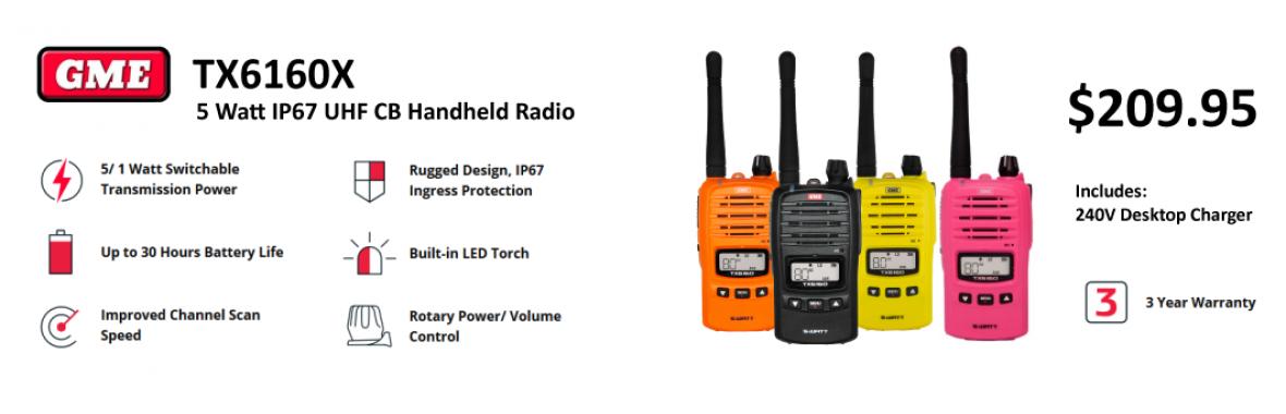 mbRADIO ELECTRONICS TX6160X